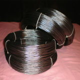 Stranded Wolfram Filament, Quad Threading Stranded Wolfram Filament, Tungsten Wire