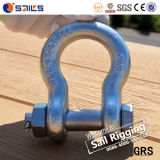 Safety Bolt Drop Forged G2130 Bow Shackle