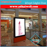 Super Shopping Mall Mupi Static LED Light Box Signage
