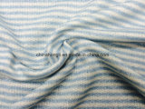 High Quality Terry C/T/R 50/30/20, 205GSM, Yarn-Dye Stripe Knitting Fabric for Sweater