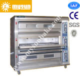 Pizza Deck Baking Oven by Gas Heating Way