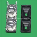 Plating Aluminum PC LED Lighting Cover