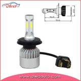 H4 4000lm 6500k Auto LED Headlight Bulbs/Fog Lighting Lamp
