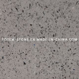 Artificial Grey Quartz Stone Countertop for Kitchen or Bathroom