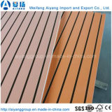 Custom Color Melamine Paper Faced Slatwall/ Slotted MDF