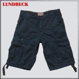 Black Cotton Shorts for Men Summer Pants