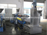 Parallel Twin Screw Granulating Line for Wast Plastic PP PE Pet PMMA PS