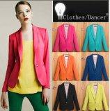 Fashion Candy Colors Professional Outwear Women Coat (MU6626)