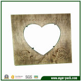 Factory Price Rectangle Brown Wood Picture Frame