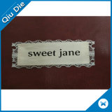 Natural Denim Fabric Lace Label as Jeans Accessories