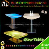 Color Changing Plastic Glow LED Table Lounge