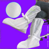 Polypropylene Nonwoven/PP/SMS/PP+PE/Medical/Surgical/Hospital/Plastic/Polyethylene/Poly/HDPE/LDPE/Waterproof Disposable CPE Boot Cover, Disposable PE Overboots