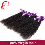 Virgin Human Hair Weave Bundles Kinky Curly Hair Extensions