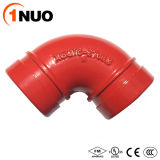 High Pressure 300psi Ductile Iron Pipe Fittings 90 Degree Elbow