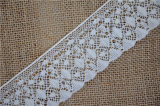 New Design Cotton Crochet Lace for Garment