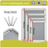 32mm Edge Aluminum Snap Frame Silver Poster Frame (A1/A2/A3/A4)