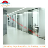 6+0.38+6 Clear Laminated Glass Office Partition