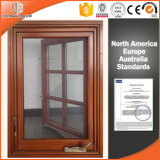 American Style Wood Aluminum Window for California USA Customer