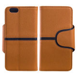New Product Mix Color Leather Case for iPhone 6