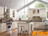 2017 New Style Modern Solid Wood Kitchen Cabinet