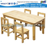 Kindergarten Furnitures Kids Wooden Table and Chair Sets (HC-2401)