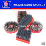 Stone Diamond Abrasive Polishing Brush (Hz008)