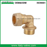 Customized Quality Brass Compression Male Elbow (AV7009)