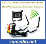 2.4G 24V 200m Wireless Video Rear View Transmitter&Receiver for Bus/Truck