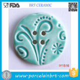 Decorative Reseda Ceramic Hand Sewing Buttons