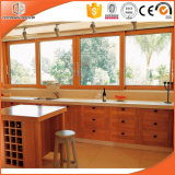 Natural Pine/Teak/Oak/Larch Imported Wood Clad Aluminum Alloy Window, Highly Praised Gliding Window