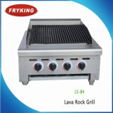 Professional Lava Rock Gas Barbeque Grill