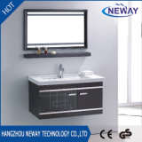 Classic Wall Stainless Steel Bathroom Vanity Cabinet with Mirror
