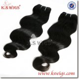 Virgin Malaysian Human Hair Weft 100% Natural Keratin Hair