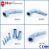Straight Elbow Hydraulic Stainless Steel Hose Pipe Fitting