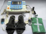 Professional Physiotherapy Product with Ultrasound, Tens, Heating and E-Cupping