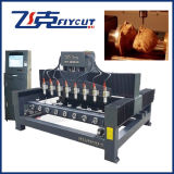 Rotary -Flat Multi-Head Spindle Engraver 2018