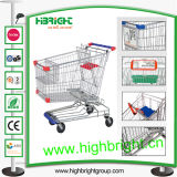 CE Standard Shopping Cart Trolley for Supermarket