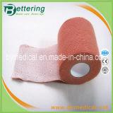 Brick Red Elastoplast Cloth Elastic Adhesive Strapping Bandage
