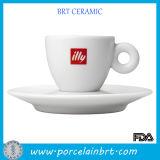 White Ceramic Cappuccino Espresso Cup