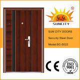 China Steel Door Low Prices Photos Steel Grill Door Design (SC-S022)