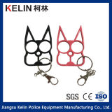 Self Defense Knuckles with Cat Figure