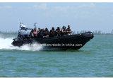 Aqualand 35feet 10.50m Rigid Inflatable Patrol Boat/Military Rib Boat (RIB1050)