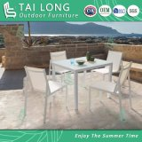 Chinese Outdoor Textile Arm Chair by Stackable Garden Sling Furniture