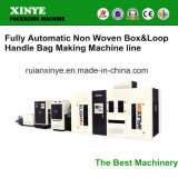 Full Automatic Nonwoven Laminated Plastic Box Bag Making Machine