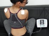 Hot Sale Factory Price Acupuncture Electronic Pulse Massager with Heating Funciton