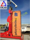 Container Lifting Tilter with Telescopic Hydraulic Cylinder Container Unloading Ramp