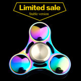 2017 New Trending Products Walmart Metal Zinc Rainbow Finger Toy Fidget Spinner Hand Spinner for Kids and Adult Gift