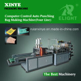 Computerized Automatic Four-Layer Double-Line Vest Bag Flat Bag Making Machine