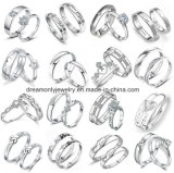 Hot Selling 925 Sterling Silver Designs Bridal Engagement Wedding Sterling Silver Rings