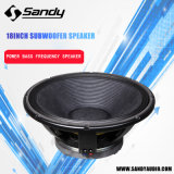 "18"" Professional Line Array Loudspeaker Woofer"